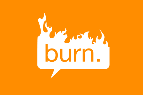 burn private messaging app